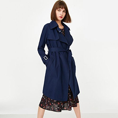 Size color Cappotti S Sottile Blue Slim Giacca Blue Giacche Abbottonatura Con Fit Temperamento Lunga PPwzaq7r
