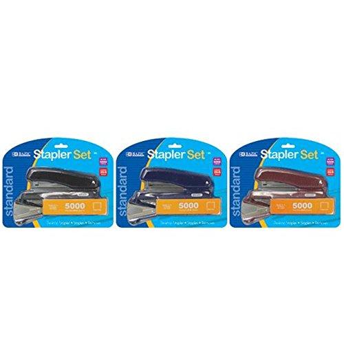BAZIC Office Desktop Stapler Set 48 for cheap