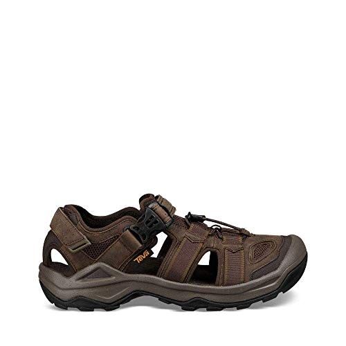 - Teva Men's M Omnium 2 Leather Fisherman Sandal, Turkish Coffee, 09.5 M US