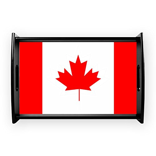 (Small Serving Tray Canadian Canada Flag HD)
