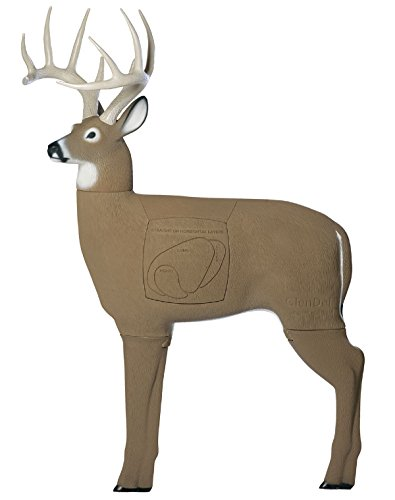 Field Logic GlenDel Buck 3D Archery Target with Replaceable Insert Core (Best Crossbow For Whitetail Deer Hunting)