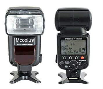 Speedlite MK900 - Flash para Nikon Cámara réflex: Amazon.es ...