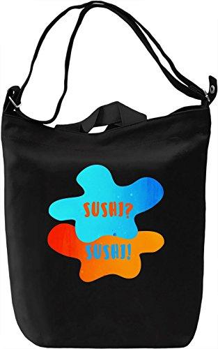 Sushi TFIOS Borsa Giornaliera Canvas Canvas Day Bag| 100% Premium Cotton Canvas| DTG Printing|