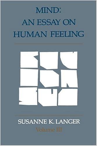 An Essay on Human Feeling Mind