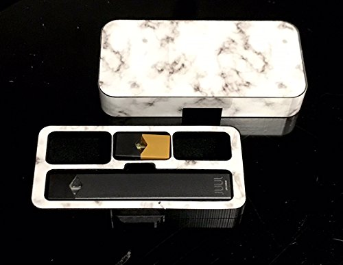 (JUUL travel case Marble S200 design by Jwraps)