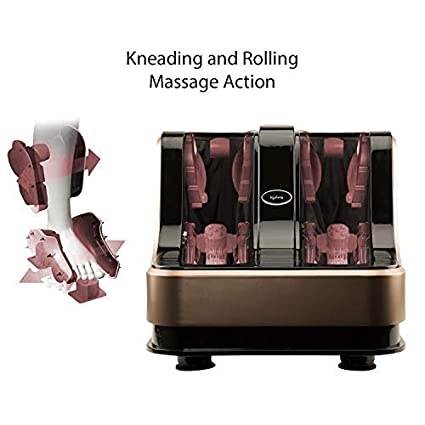 Lifelong LLM135 Eco Leg and Foot Massager (Without Heat and Vibration) 80W, 4  Motors, Brown: Amazon.in: Health & Personal Care