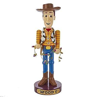 Kurt Adler 4 Inches Toy Story Woody Mini Nutcracker
