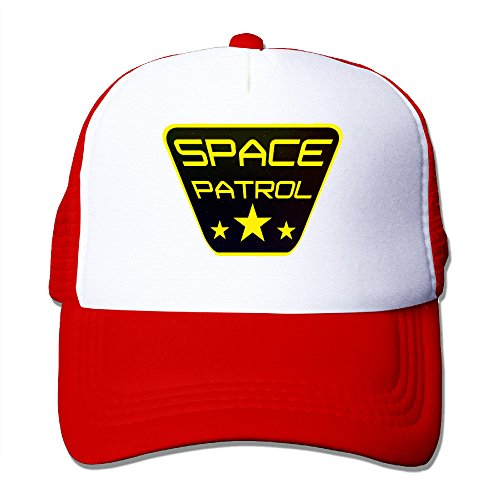 Texhood Space Patrol Fashion Cap Hat One Size Red