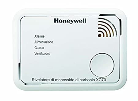 Honeywell XC70-IT Dispositivo di Allarme per Monossido di Carbonio a Batteria XC70