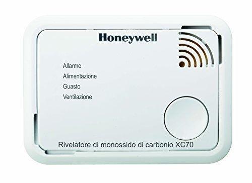 Honeywell XC70-IT Dispositivo di Allarme per Monossido di Carbonio a Batteria XC70