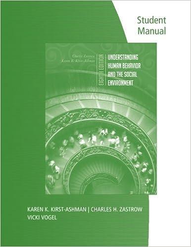 Student Manual for Zastrow/Kirst-Ashman's Understanding