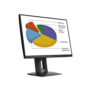 HP K7B99A8#ABA Z24n 24'' LED-Backlit LCD Monitor, Black