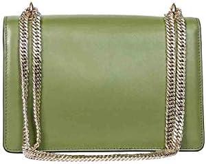 Borbonese Luxury Fashion Donna 963914I65U81 Verde Borsa A Spalla |