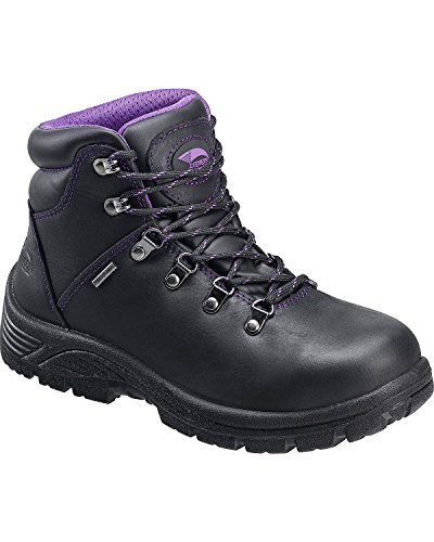 Avenger Women's 7124 Leather Waterproof EH Slip Resistant Work Boot