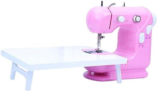 Yuaer Pequeña máquina de coser manual para principiantes eléctrica ...