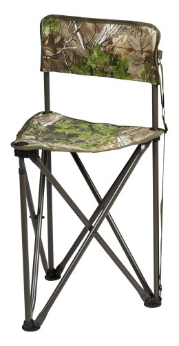 Hunters Specialties Camo Furniture Tripod Chair, Realtree Xtra Green