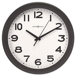 Kenwick Wall Clock, 13-1/2, Black