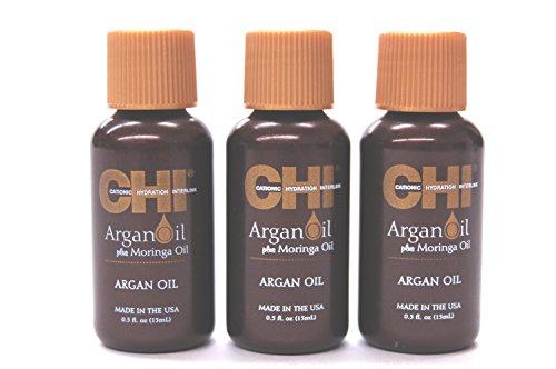 Argan Oil plus Moringa Oil 0.5 Oz - 3 PACK -