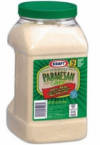 Kraft Grated Parmesan Cheese - 4.5 lb. container (Parmesan Grated)