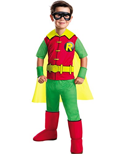 Batman Products : Rubie's Costume Boys DC Comics Deluxe Robin Costume