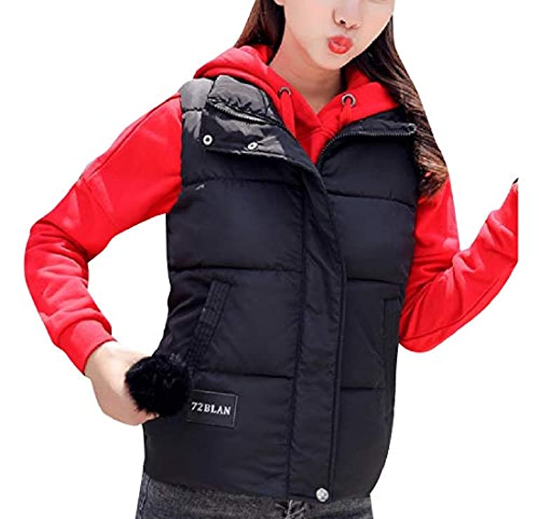 Women Vest Inverno Plus Warm Packable Autunno Pocket size Baseby Hd8qH