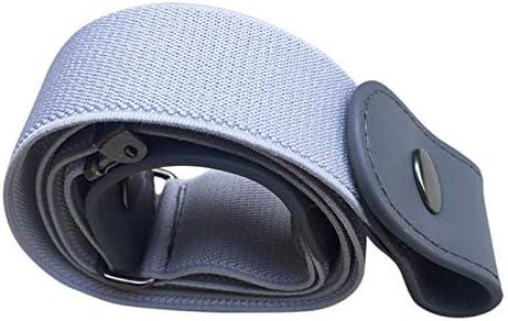 Coomir Cinturón elástico sin Hebilla Sin Hebilla Cinturón elástico para Pantalones Jean Vestidos