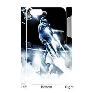 C-EUR Diy hard Case Russell Westbrook customized 3D case For Iphone 4/4s