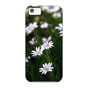 Defender Case With Nice Appearance (flower Meadow) For Iphone 5c