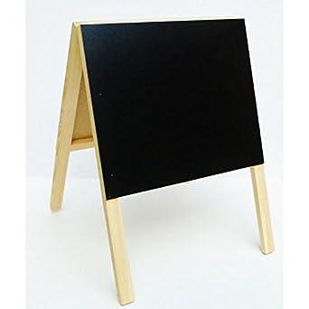 Mini cuadro trípode pizarra doble cara cuadro blanco y negro ...