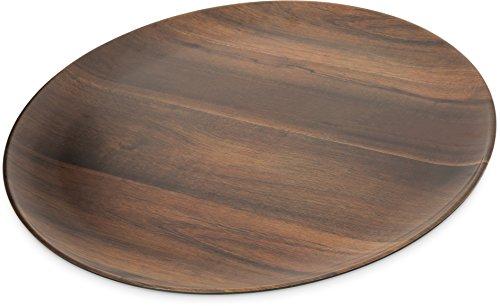 Epicure Acacia Grain Round Platter 18