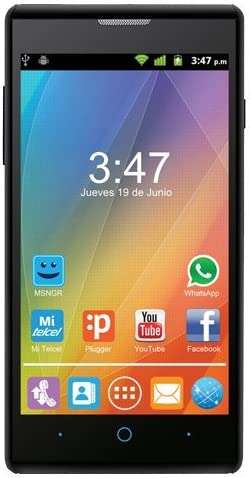 ZTE Kis II MAX - Smartphone Libre de 4