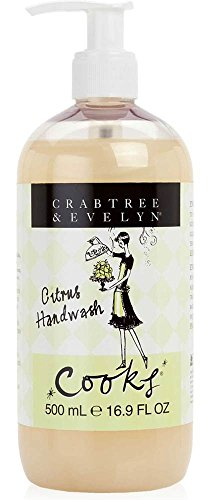 Crabtree & Evelyn Citrus Hand Wash, Cooks, 16.9 fl. oz.
