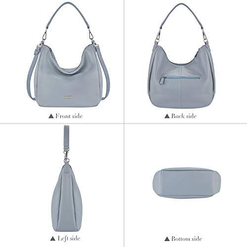 Handbags Top Bag PU Women��s Fanspack Crossbody Purse Bag Shoulder Hobo Leather Handle EwXBATqv