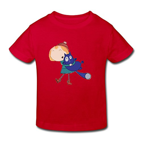 Toddler's 100% Cotton Peg + Cat Style T-Shirt