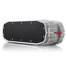 BRAVEN BRV-X Wireless Bluetooth Speaker [Waterproof] - Gray/Red