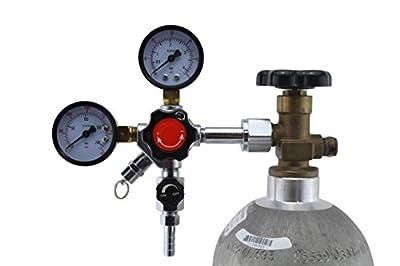 Heavy Duty Dual Gauge CO2 Regulator by The Weekend Brewer