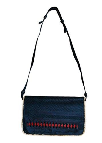 Sac réel en cuir d'épaule, sac à main, sac à bandoulière pour les femmes, les dames, les filles - Fait main