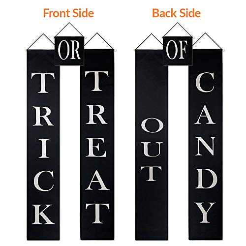 Best Halloween Treats To Hand Out - Trick Or Treat Banner - Reads