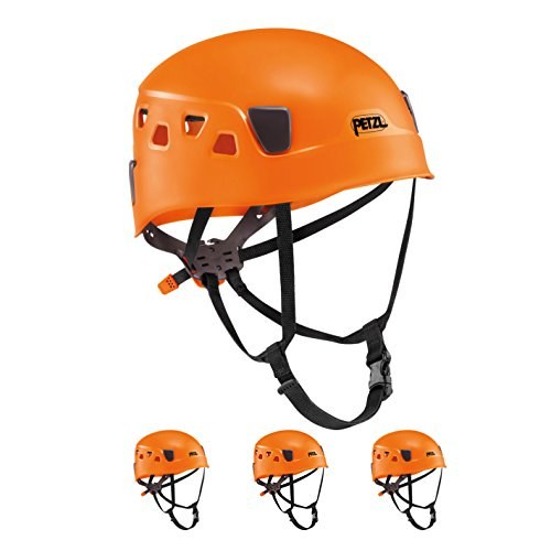 Petzl Panga Orange Climbing Helmet for Group and Club Use 4 Pack by Petzl