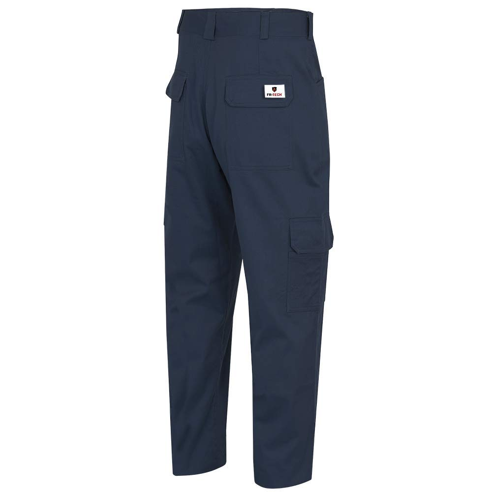 34X30 V2540540-34x30 Pioneer Cargo Work Pants ARC 2 Flame Resistant Premium Cotton and Nylon Blend Navy