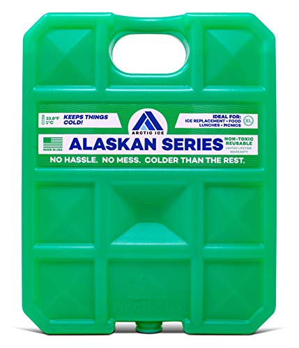 ARCTIC ICE Alaskan Series Reusable Cooler Pack, Reusable Ice Packs for Coolers, Long Lasting Ice Pack, X-Large Ice Pack