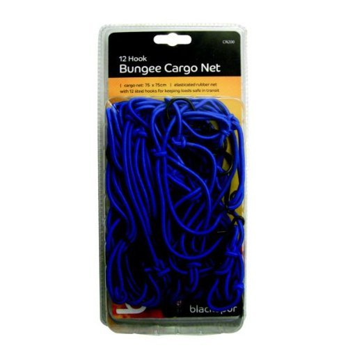 Blackspur BB-CN200 12-Hook Bungee Cargo Net