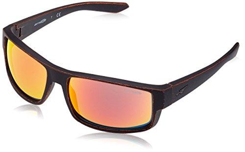 Arnette Men's Boxcar Rectangular Sunglasses, Matte Tumbled Copper, 59 - Heist Arnette Sunglasses