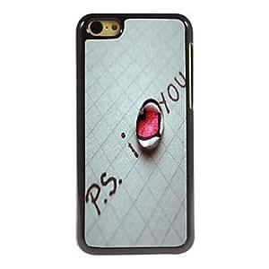 SHOUJIKE iPhone 5C compatible Cartoon/Metallic/Special Design/Novelty Back Cover