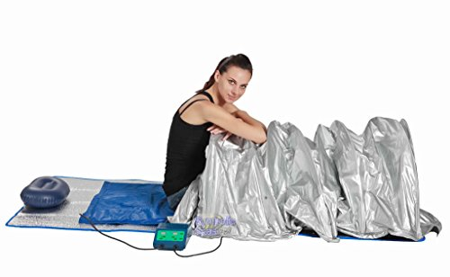 Portable FIR Far Infrared Sauna Slimming Dome Blanket SPA SALON Weight Loss by SDI Deals