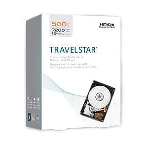 HGST Travelstar 2.5 Inch 500GB 7200 RPM SATA II 16 MB Cache Internal Hard Drive (0S02858)