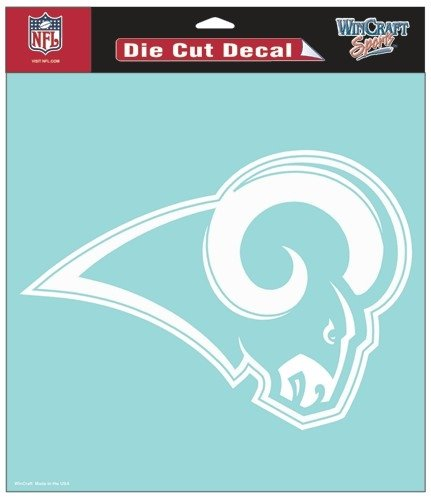 St. Louis Rams 8''X8'' Die-Cut Decal