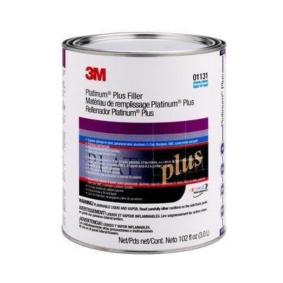 3M (01131) Plus Filler, 01131, 1 Gallon (US), 4 per case [You are purchasing the Min order quantity which is 4 CANS]
