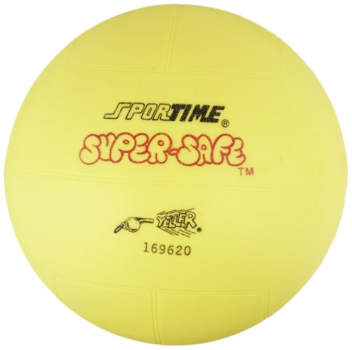 Sportime 009584 Super-Safe Foam Volleyball - Yellow ()