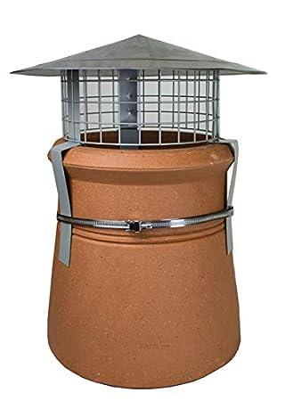 Amazon.com: Hi parte superior capó protección para chimeneas ...